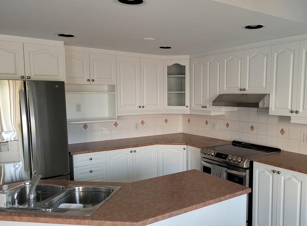 Kitchen cabinets painting company Ottawa